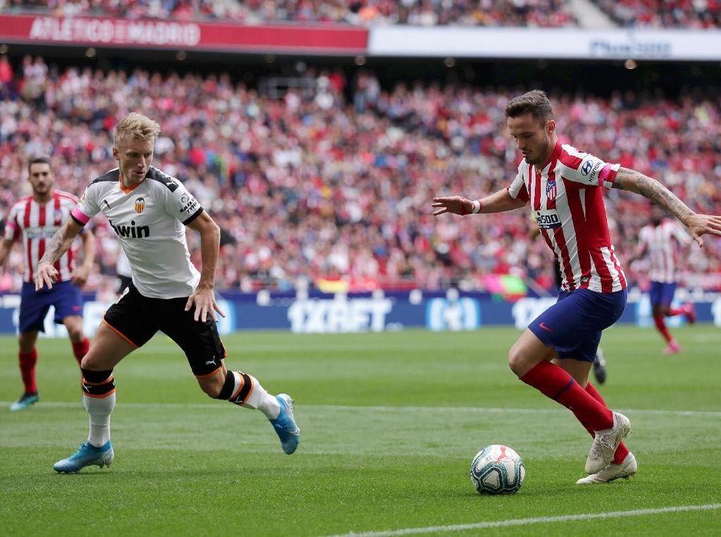 Atletico Madrid Vs Valencia Berakhir 1-1
