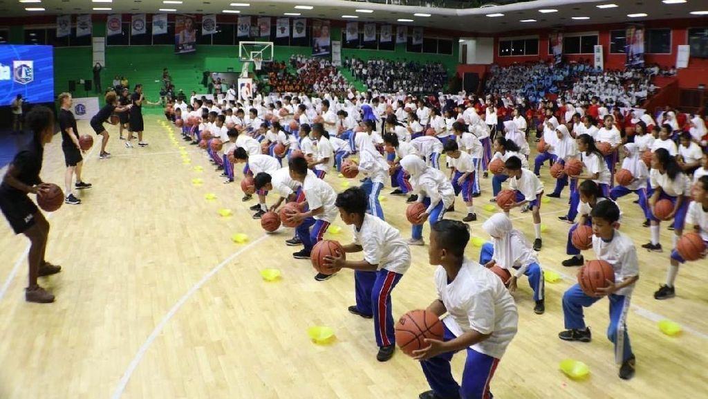 Gandeng NBA, Pemprov DKI Kembangkan Bibit Basket di Jakarta