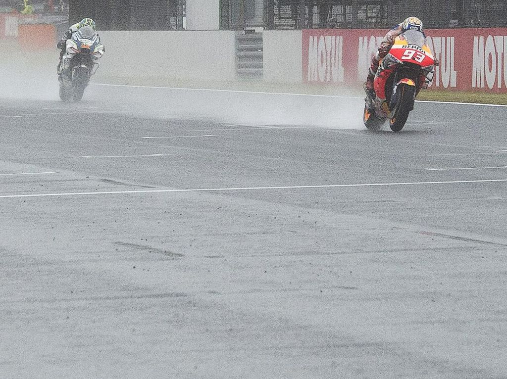 Pole di Jepang, Marquez Sudah Sapu Bersih Seluruh Sirkuit MotoGP