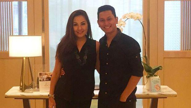 Emma Warokka dan suaminya, Bagoes Soeharto