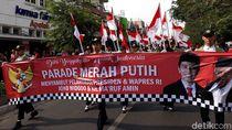 Sambut Pelantikan Presiden, Warga Yogya Gelar Parade Merah Putih