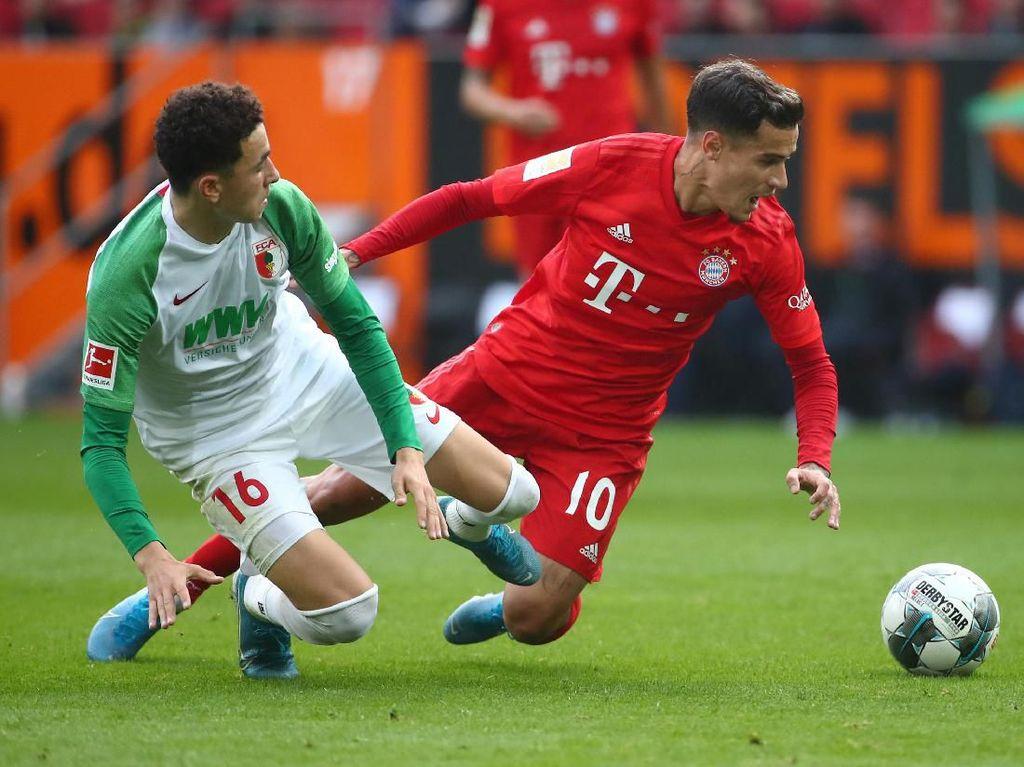 Augsburg Vs Bayern Munich: Die Roten Diredam 2-2