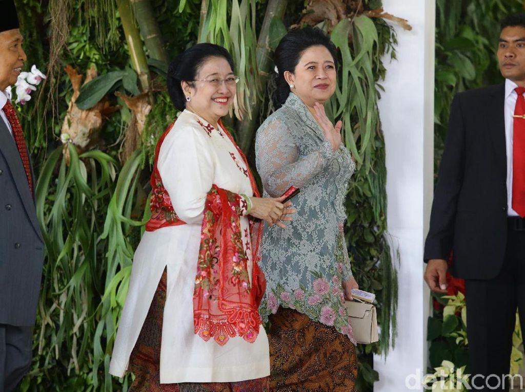 Teka-teki Narasi Megawati Tolak AHY Masuk Kabinet Jokowi