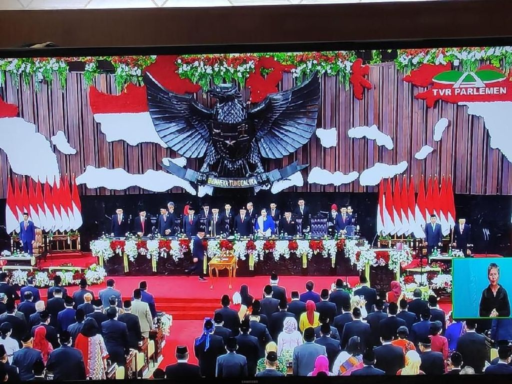 Buka Pelantikan Jokowi, Bamsoet Beri Pujian Khusus atas Kehadiran Mega-SBY