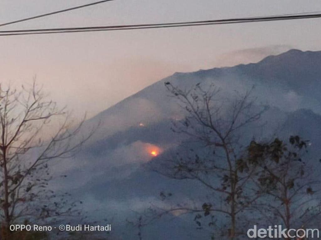 Kebakaran Gunung Arjuno-Welirang Tambah Parah, Ribuan Hektare Lahan Terbakar