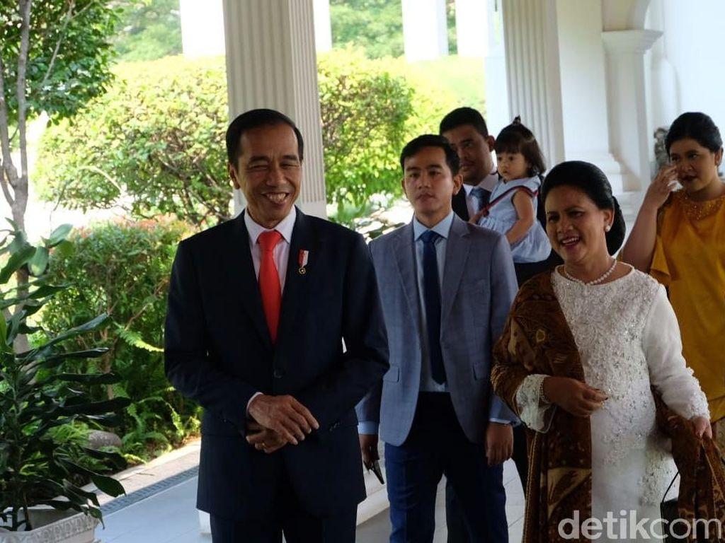 Permintaan Khusus Iriana Jokowi Soal Busana di Pelantikan Presiden 2019