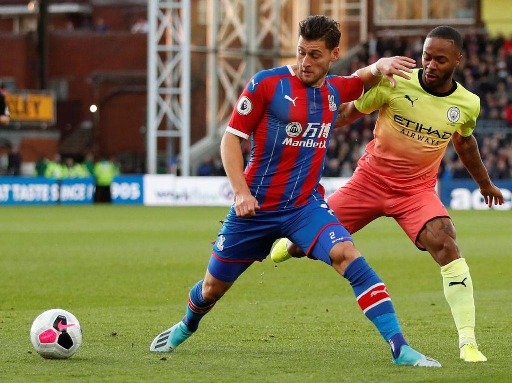 Babak Pertama, City Unggul 2-0 atas Palace