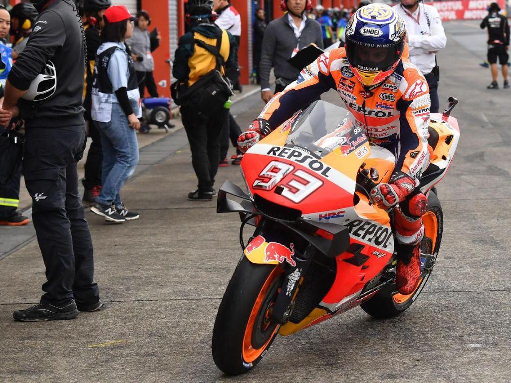 Kecepatan Ducati dan Yamaha Mengancam Marquez di Sepang