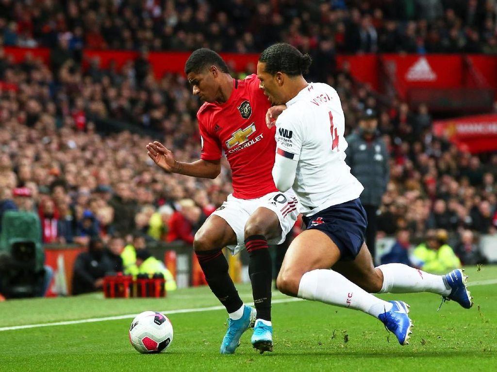 MU Vs Liverpool: Rashford Bawa Setan Merah Memimpin 1-0