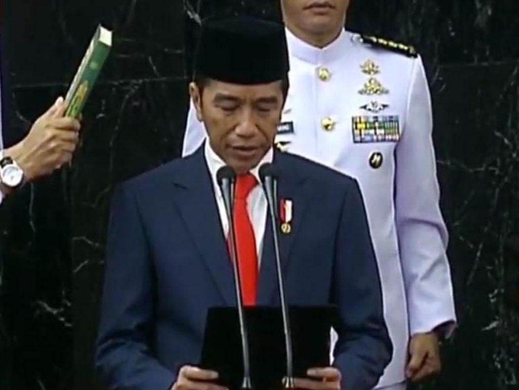 Ini Sumpah yang Diucapkan Jokowi-Maruf Saat Dilantik