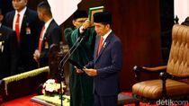 Jokowi-Maruf Resmi Jadi Presiden dan Wakil Presiden