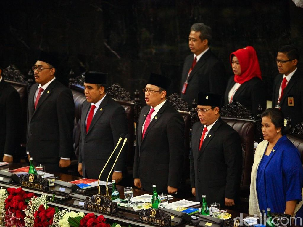 Bamsoet Dinilai Sukses Bikin Pelantikan Jokowi Jadi Pemersatu Bangsa
