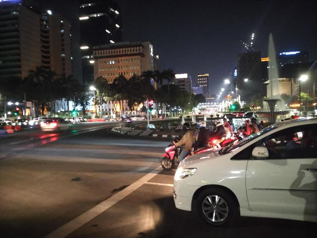 Sempat Ditutup Saat Pelantikan Jokowi, Jalan Arah Istana Kembali Dibuka