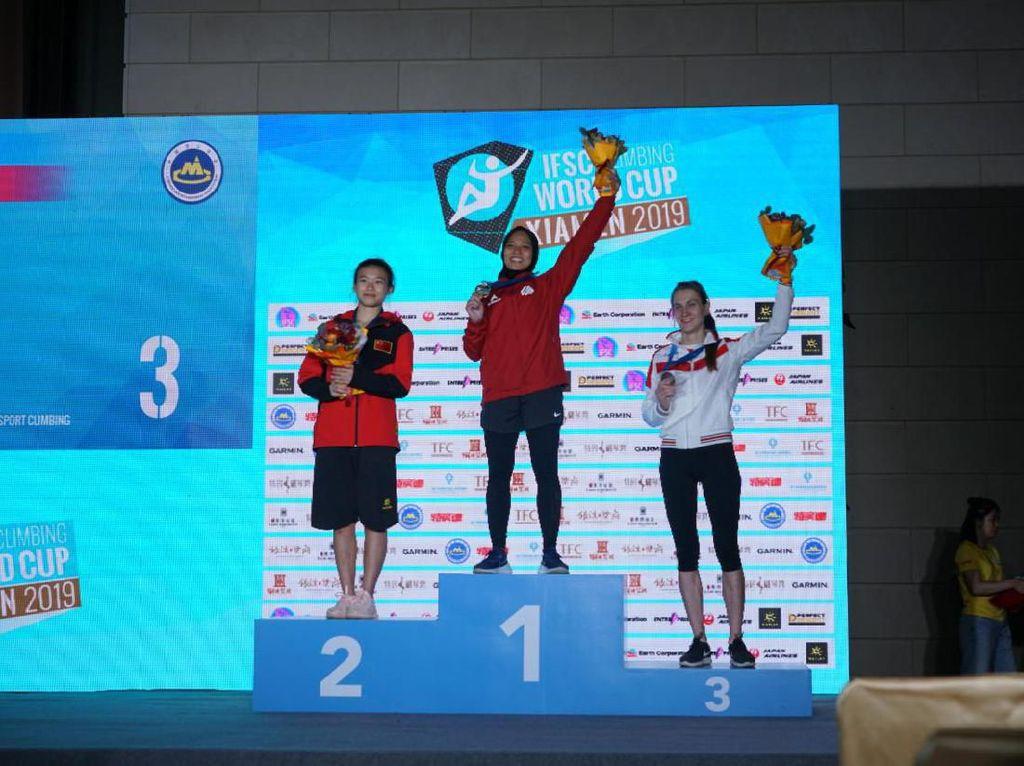 China yang Spesial untuk Spiderwoman Aries: 4 kali Juara Dunia dan Pecah Rekor