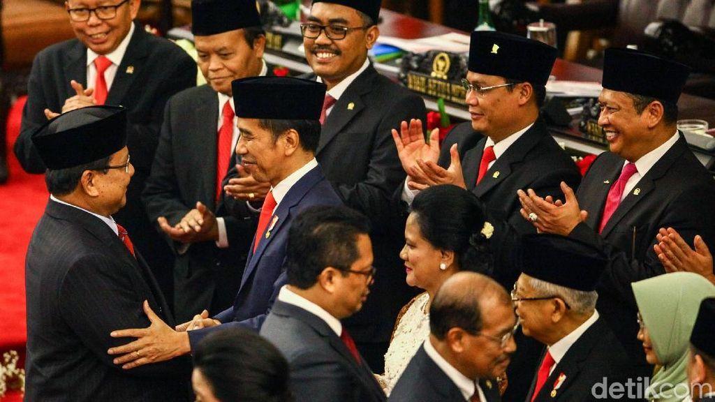Prabowo Hingga SBY Ucapkan Selamat Kepada Jokowi-Maruf