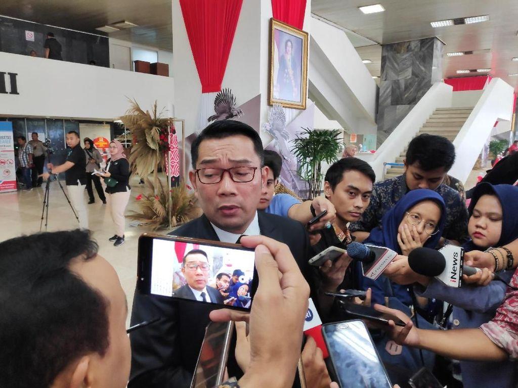 Masuk Kabinet Jokowi? Ridwan Kamil: Alhamdulillah Nggak Ditelepon