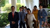Penampilan Iriana Jokowi di peresmian presiden 2019-2024