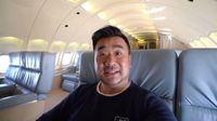 Travel Blogger Ini Rasakan Naik Jet Pribadi Senilai 2T