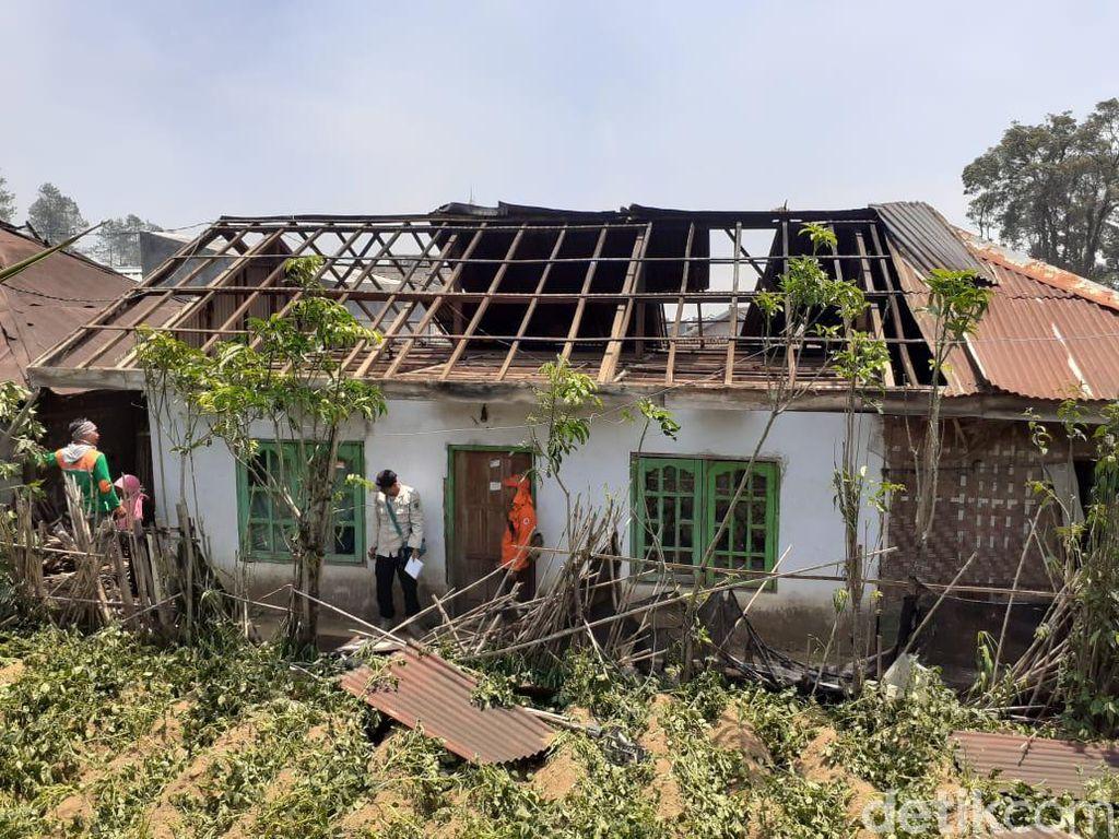 811 Rumah di Dataran Tinggi Dieng Rusak Diterpa Angin Kencang
