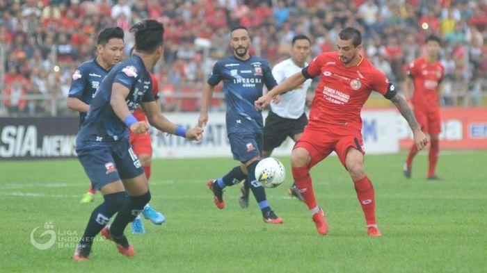 Madura United mengalahakn Semen Padang FC.  (dok. Liga Indonesia)