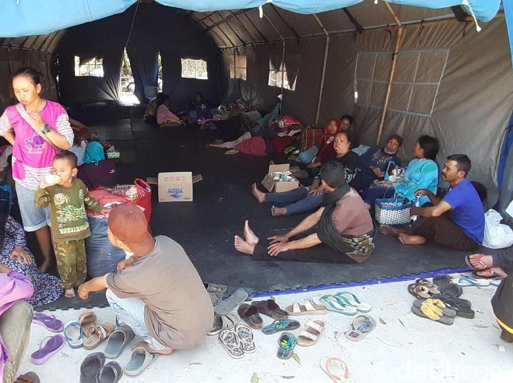 Angin Masih Kencang, 1.270 Warga Batu Masih Bertahan di Pengungsian