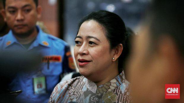 Ketua DPR RI Puan Maharani. Jakarta.  Senin 21 Oktober 2019. CNN Indonesia/Andry Novelino