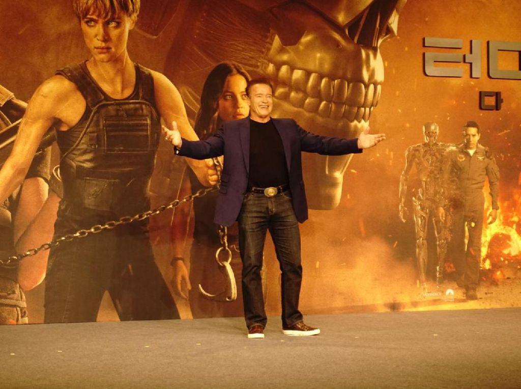 Berakting di Terminator: Dark Fate, Arnold Schwarzenegger Merasa Muda