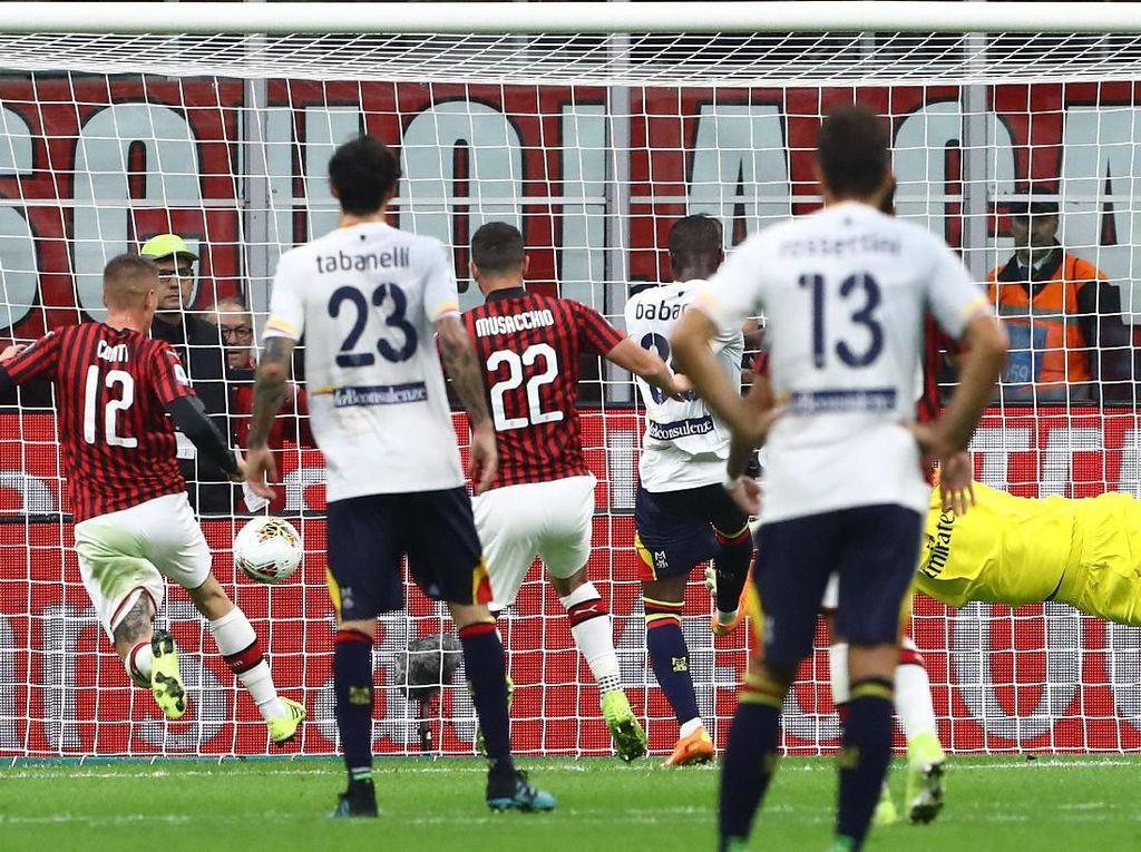 Milan Vs Lecce: Rossoneri Seri di Laga Debut Pioli