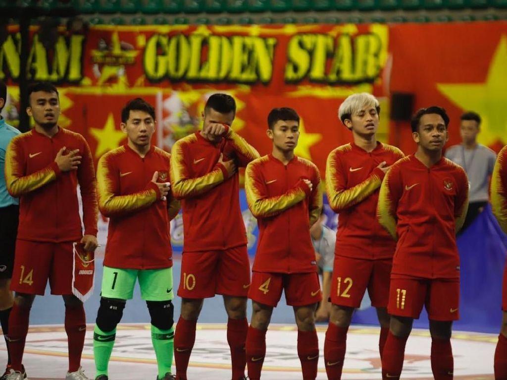 Indonesia Gagal Juara AFF Futsal Championship 2019