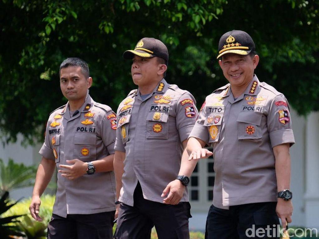 Tito Dipanggil Bareng Calon Menteri, Polri Tunggu Kepastian Istana
