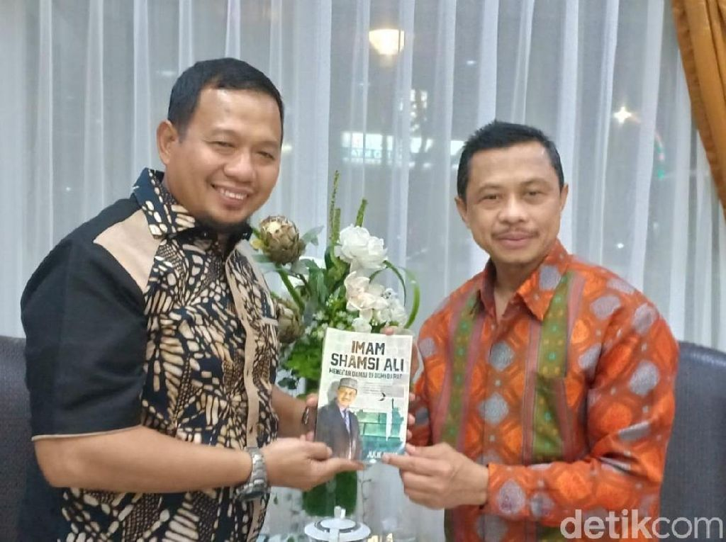 Temui Pj Walkot Makassar, Imam Masjid New York Bahas Ponpes Nusantara di AS
