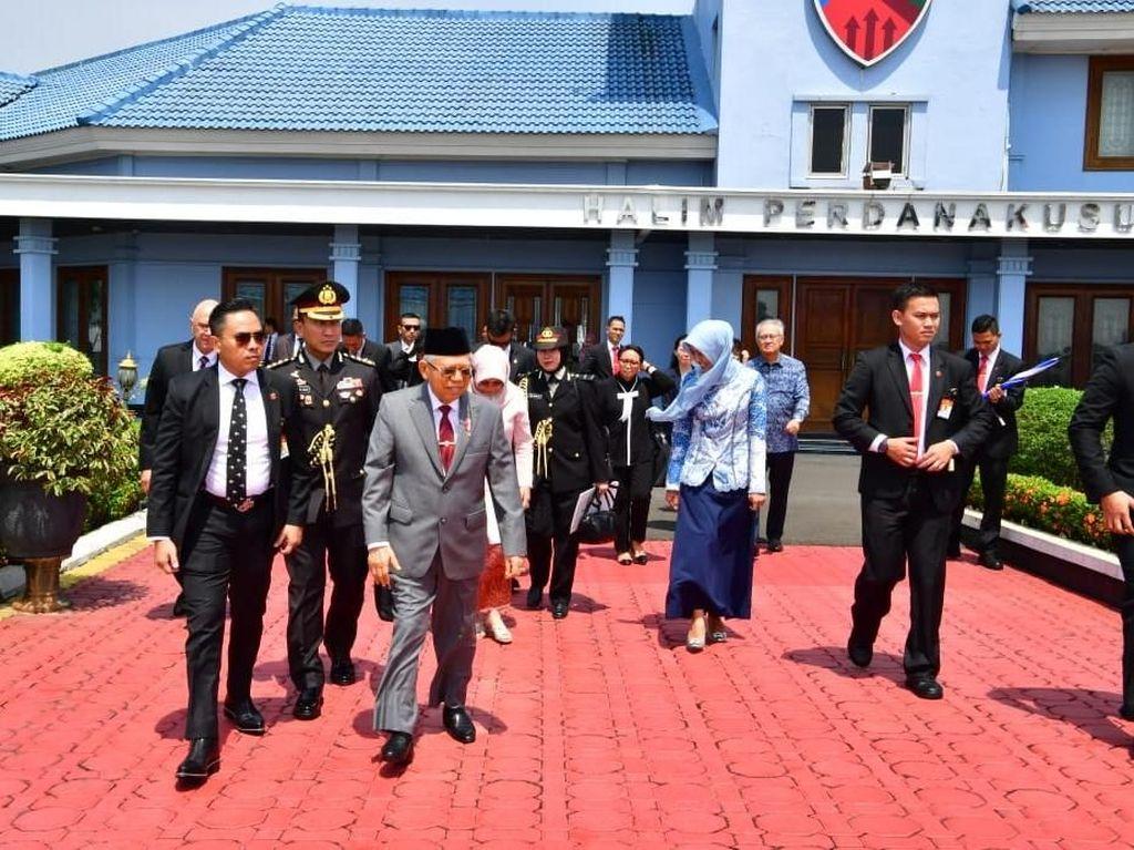 Maruf Amin Bertolak ke Jepang Hadiri Penobatan Kaisar Naruhito
