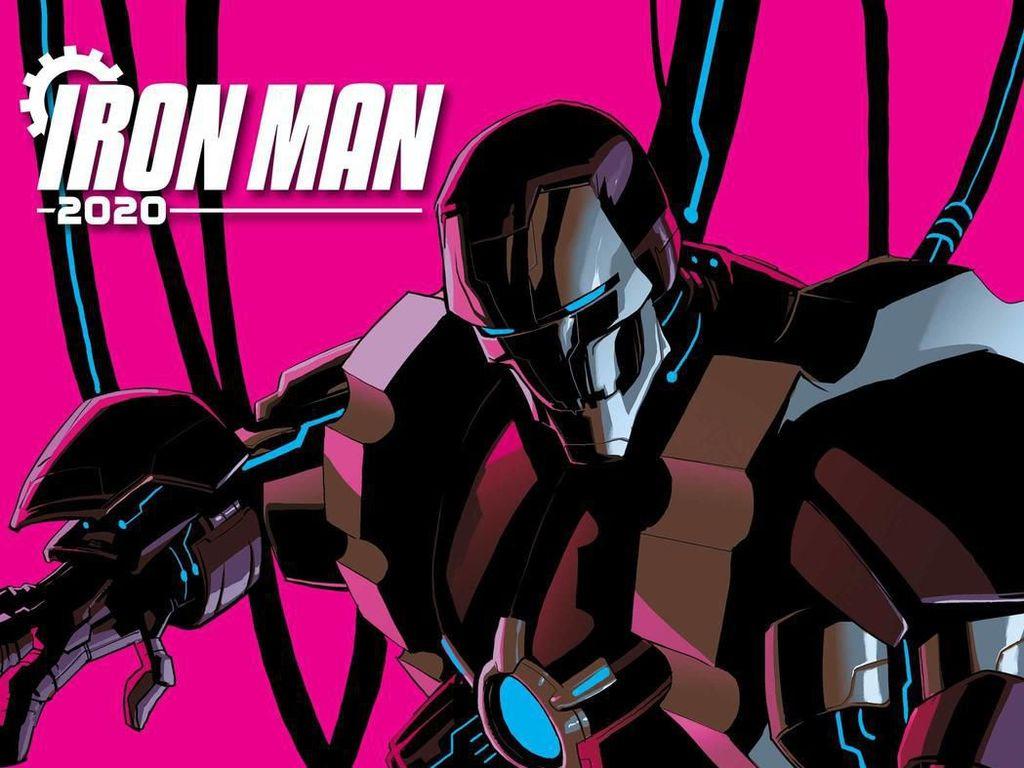 Ini Tampilan Perdana Iron Man 2020