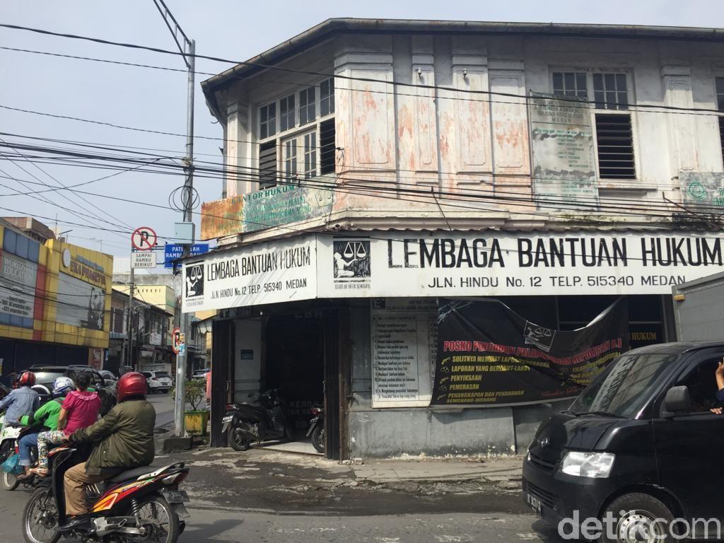Sudah 1 Pekan, Kasus Pelemparan Molotov di LBH Medan Belum Terungkap