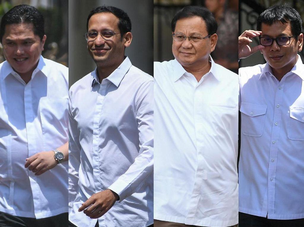 Inikah Wajah-wajah Baru Menteri Jokowi di Periode Kedua?