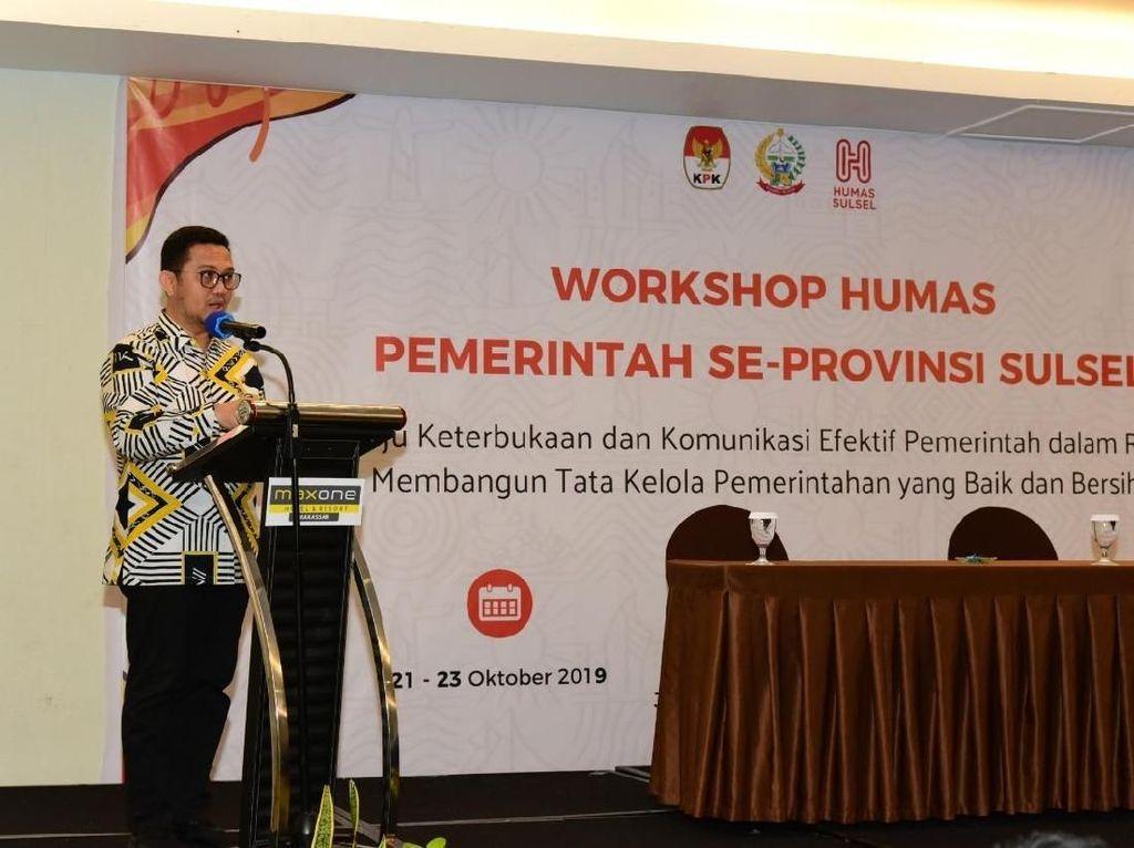 Gandeng KPK, Pemprov Sulsel Gelar Workshop Pencegahan Korupsi