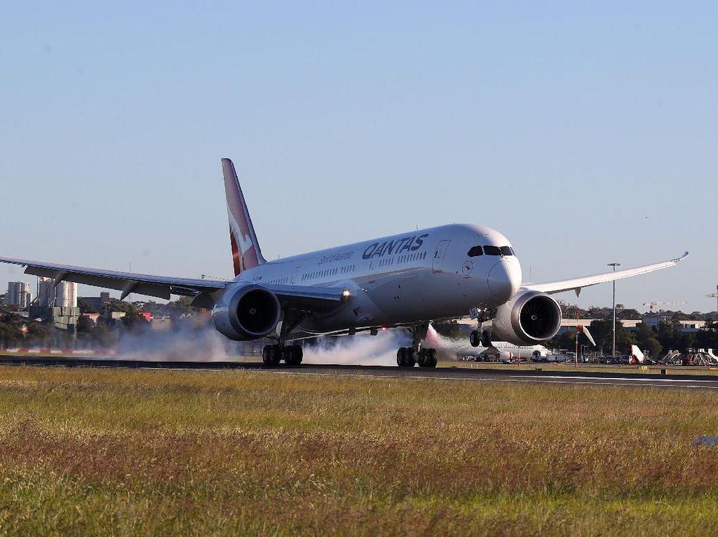 Sejarah! Penerbangan Nonstop Nyaris 20 Jam Rampung Dilakukan