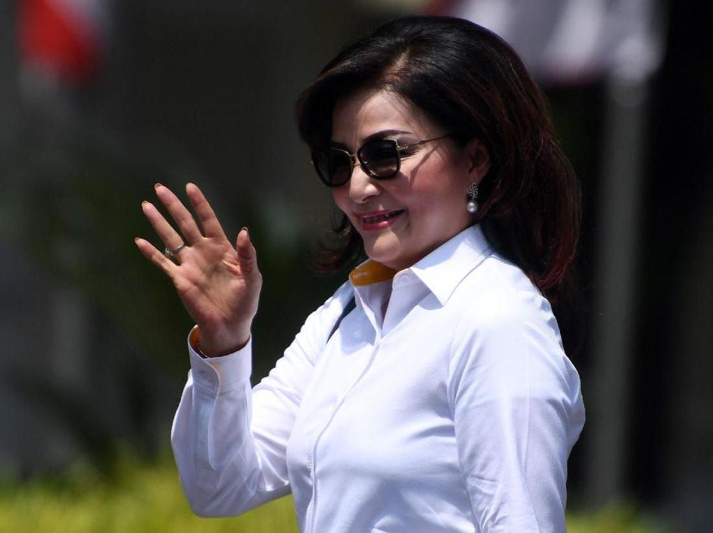Ketum Golkar soal Bupati Tetty ke Istana: Belum Tentu Bertemu Presiden