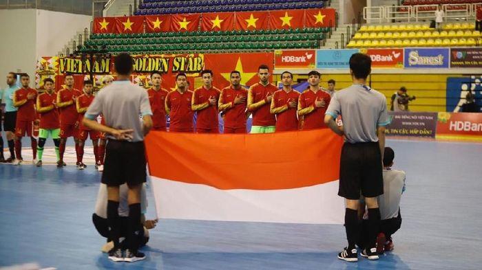 Timnas futsal Indonesia menang 3-2 atas Malaysia di AFF Futsal Championship 2019. (Foto: dok. Federasi Futsal Indonesia (FFI))