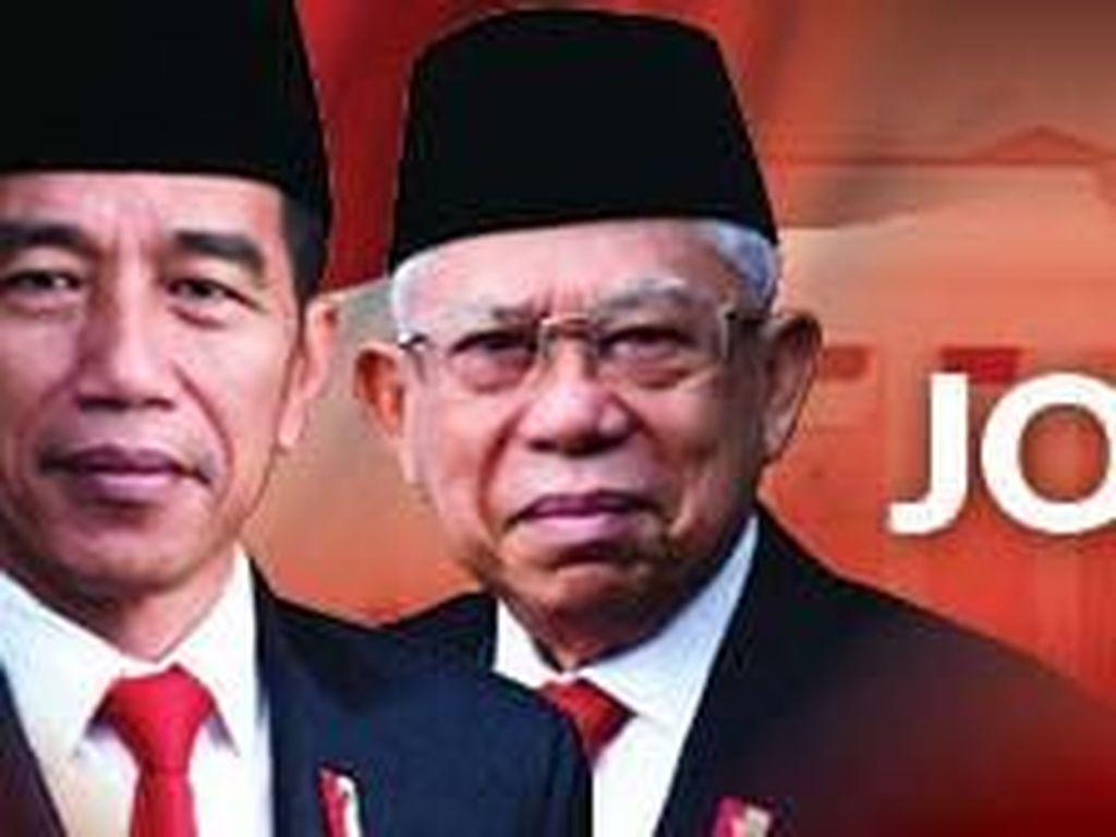 Setahun Jokowi-Maruf dalam Bingkai Survei