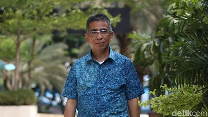 Benny Erwin, calon ketua umum PSSI (Agung Pambudhy/detikSport)
