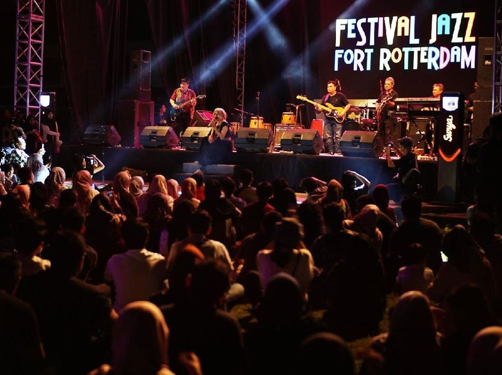 Serunya Makassar Jazz Festival di Benteng Fort Rotterdam