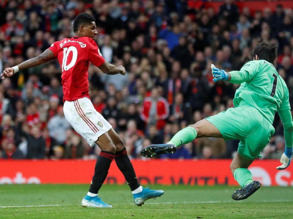 Rashford Sebut Liverpool Tak Layak Dapat Hasil Imbang