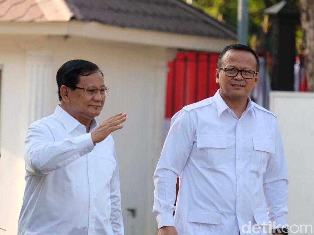 Diminta Jokowi, Prabowo-Edhy Prabowo Siap Bantu di Kabinet