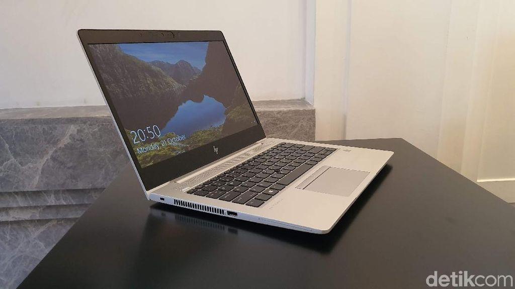 Penampakan HP Elitebook 700 G6, Laptop Bisnis Rp 16 Juta