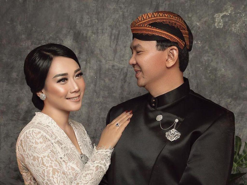 Cie! Ahok Akhirnya Unggah Foto Pernikahan dengan Puput