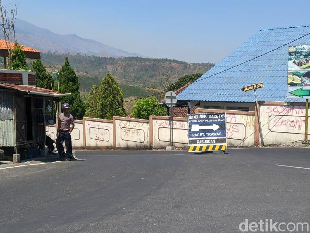 Jalur Mojokerto-Batu Via Cangar Masih Ditutup, Ini Rute Alternatifnya