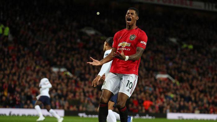 MU berimbang 1-1 dengan Liverpool di Old Trafford. (Foto: Catherine Ivill/Getty Images)