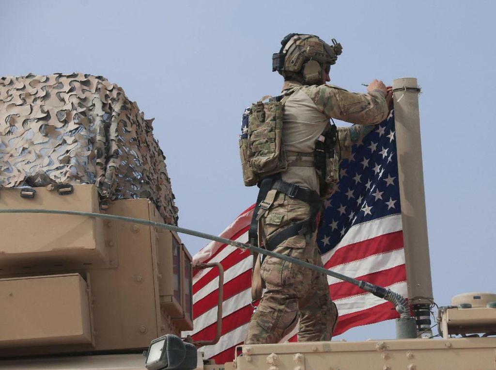 Markas Pasukan AS di Irak Diserang Roket, 4 Personel Militer Luka-luka