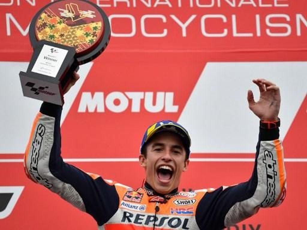 Sejarah! Marc Marquez Rider Pertama yang Tembus 400 Poin